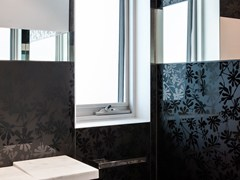 - Decorated glass wall tiles DECORFLOU® DESIGN TREE - OmniDecor®