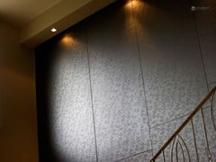 - Decorated glass wall tiles DECORFLOU® DESIGN WEED - OmniDecor®
