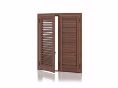 - Aluminium shutter with adjustable louvers with overlap louvers DEKORA Overlap Adjustable - Kikau