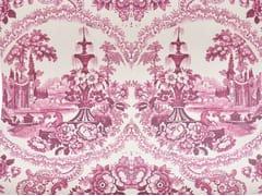 - Motif wallpaper DELFT BAROQUE WALLPAPER - PINK - Mineheart