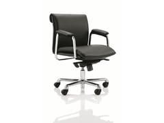 - Leather task chair DELPHI - Boss Design
