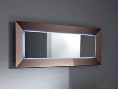 - Rectangular mirror with integrated lighting DENVER UP | Rectangular mirror - SOVET ITALIA