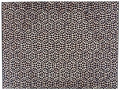 - Rectangular rug with geometric shapes DIAMOND BLACK&CREAM - Golran