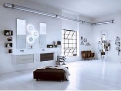 - Laminate bathroom cabinet / vanity unit DIECI - Composizione 1 - INDA®