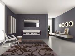 - Laminate bathroom cabinet / vanity unit DIECI - Composizione 5 - INDA®