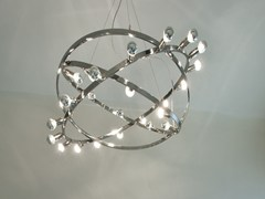 - Stainless steel pendant lamp DIONE | Stainless steel pendant lamp - LICHT IM RAUM
