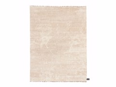 - Solid-color rectangular wool rug DIPPED SCRATCH | Solid-color rug - cc-tapis ®