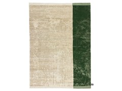 - Rectangular striped wool rug DIPPED SCRATCH | Striped rug - cc-tapis ®