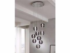 - Direct light blown glass pendant lamp ECLISSE | Direct light pendant lamp - Cangini & Tucci