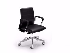 - Low back executive chair DIRECTA | Executive chair - Quadrifoglio Sistemi d'Arredo