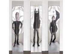- Rectangular wall-mounted hall mirror DISTORTING MIRROR | Hall mirror - VIDAME CREATION