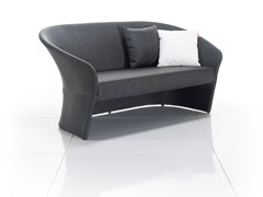 - 2 seater fabric garden sofa DIVA | 2 seater sofa - solpuri