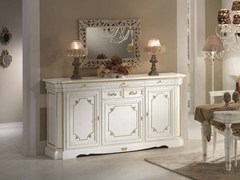 - Solid wood sideboard with doors DOGI | Lacquered sideboard - Arvestyle