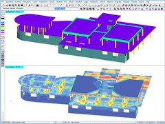 - Finite element (FEM) structural resolver DOLMEN FEM E 3D - CDM DOLMEN