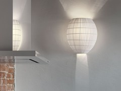 - Direct-indirect light fabric wall lamp DOME | Wall lamp - Masiero
