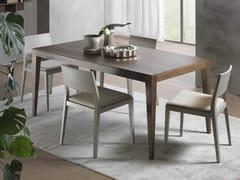 - Tavolo allungabile rettangolare DOMINIQUE | Tavolo in legno impiallacciato - Pacini & Cappellini