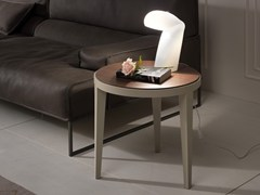 - Low round coffee table DOMINIQUE | Lacquered coffee table - Pacini & Cappellini
