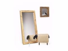 - Countertop rectangular framed spruce mirror DORIAN | Countertop mirror - Vontree