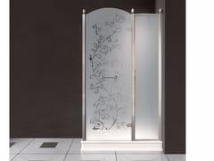 - Box doccia rettangolare in vetro satinato con porte a battente DORSET | Box doccia - BATH&BATH
