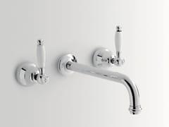 - Rubinetto per lavabo a 3 fori a muro DOVER | Rubinetto per lavabo a 3 fori - BATH&BATH