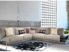 - Corner sectional fabric sofa DOYLE | Corner sofa - Domingo Salotti
