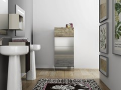 - Laminate bathroom cabinet with drawers DR•ØNE | Bathroom cabinet with drawers - De Rosso
