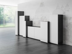 - Laminate highboard with doors DR•ØNE | Highboard with doors - De Rosso
