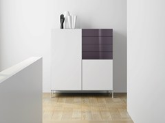 - Laminate highboard with drawers DR•ØNE | Highboard with drawers - De Rosso