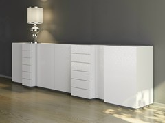 - Laminate sideboard with drawers DR•ØNE | Sideboard with drawers - De Rosso