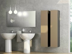- Tall laminate bathroom cabinet DR•ØNE | Tall bathroom cabinet - De Rosso