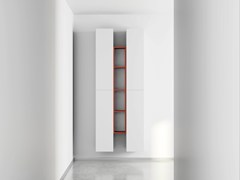 - Wall-mounted laminate bookcase DR•ØNE | Wall-mounted bookcase - De Rosso