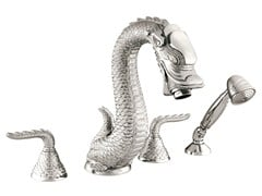 - 4 hole bathtub set DRAGON | Bathtub set - Bronces Mestre