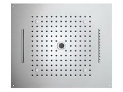 - Contemporary style LED overhead shower Dream 4 Sprays - LED LIGHTS - Bossini