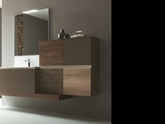 MOBILE LAVABO SOSPESO CON SPECCHIO DRESS 07 - ARBLU