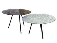 Tavolino rotondo in vetroDROPS - BARANSKA DESIGN