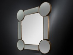 - Wall-mounted framed hall mirror DRUMMOND | Square mirror - VGnewtrend