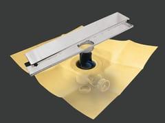 Scarico per doccia in metalloDRY50 LINEARE PREMIER - REVESTECH