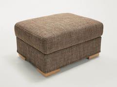 - Upholstered fabric pouf DUKE | Pouf - Milano Bedding