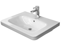 - Rectangular washbasin with overflow DURASTYLE | Washbasin - DURAVIT