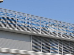 - Adjustable aluminium solar shading DUTEC 150R   Solar shading - INDÚSTRIAS DURMI