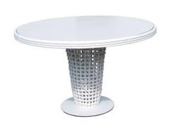 - Tavolo da giardino rotondo in polipropilene DYNASTY 22461 - SKYLINE design