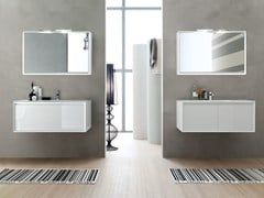 - Vanity unit / mirror E.45 COMPOSITION 7 - Arcom