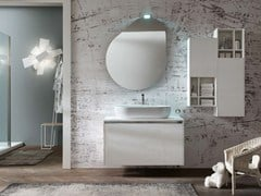 - Wooden bathroom cabinet / vanity unit E.GÒ - COMPOSITION 41 - Arcom