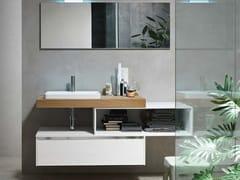 - Sistema bagno componibile E.GÒ - COMPOSIZIONE 43 - Arcom