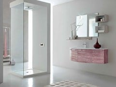 - Single wooden vanity unit E.LY - COMPOSITION 45 - Arcom