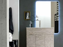 - Single wooden vanity unit E.LY - COMPOSITION 46 - Arcom
