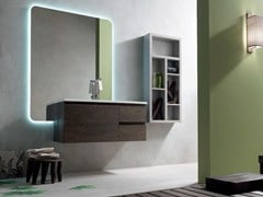 - Wooden bathroom cabinet / vanity unit E.LY - COMPOSITION 37 - Arcom
