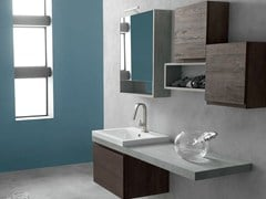- Wooden bathroom cabinet / vanity unit E.LY - COMPOSITION 38 - Arcom