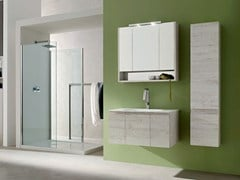 - Wooden bathroom cabinet / vanity unit E.LY - COMPOSITION 39 - Arcom