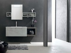 - Wooden bathroom cabinet / vanity unit E.LY - COMPOSITION 40 - Arcom